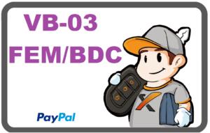 FEM/BDC VB-03 w/o MiniCondor